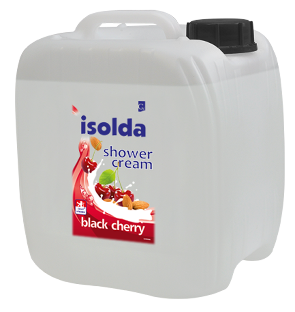 Isolda Black cherry 10 l shower cream