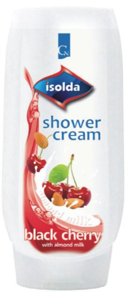 D Isolda Black cherry 500ml shower cream