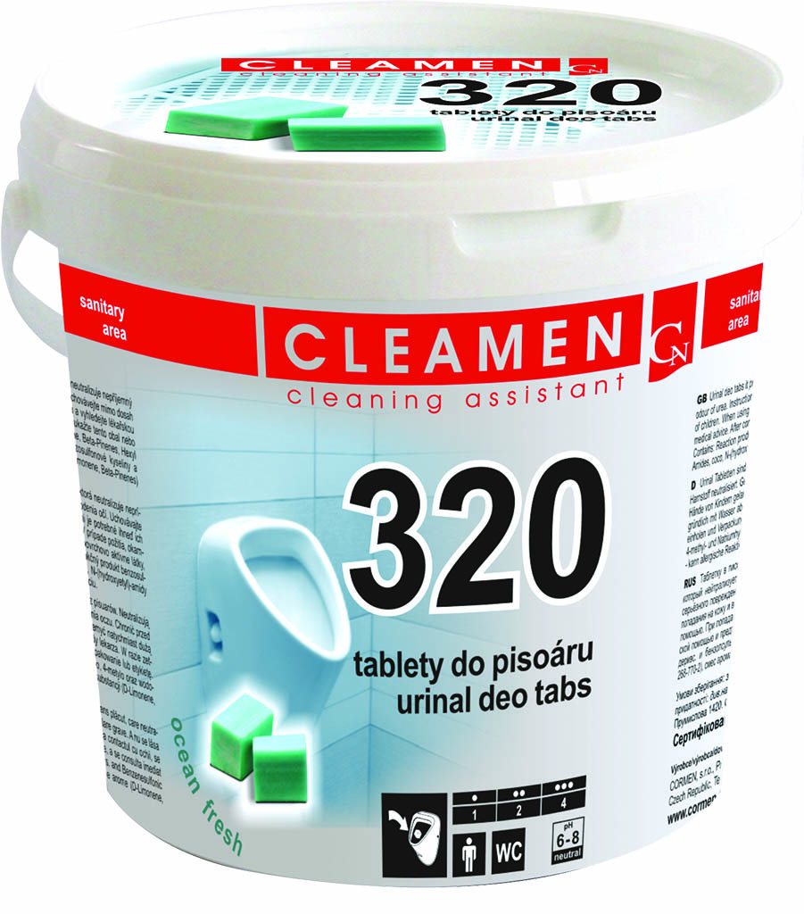 D CLEAMEN 320 DEO tab.do pisoaru/48ks